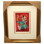Chagall (After) Carmen Museum Framed Giclee-Limited Edition