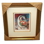 Chagall (After) Marriage Museum Framed Giclee-Limited Edition