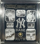 Extremely Rare Babe Ruth Baseball Certified Authentic Autograph Memorabilia