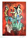 MARC CHAGALL (After) Carmen Lithograph, I72 of 500