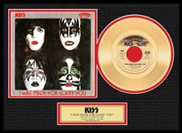 KISS I Was Made for Loving You Gold 45