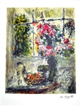 MARC CHAGALL (After) Still Life Lithograph, I31 of 500