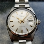 *Rolex Vintage Oysterdate Precision 6694 Manual 1973 Mens Stainless Watch -P-