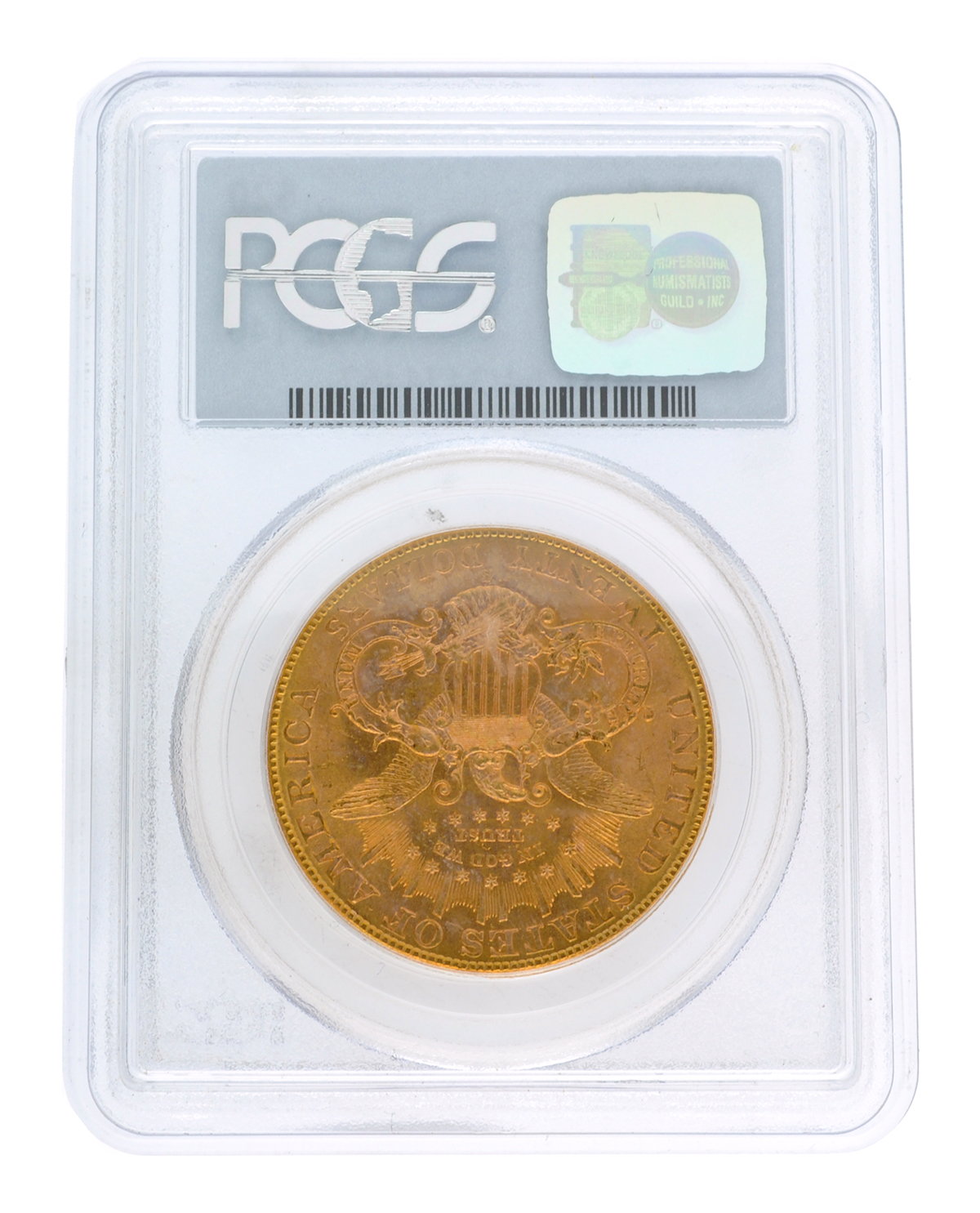 Lot Detail - *1906-S $20 U S  Liberty Head PCGS MS64 Gold Coin (DF)