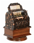 Extremely Rare Samuel Nafew Little Model Circa 1894 Cast Iron Flip Card Game Fully Restored Great Investment -PNR-