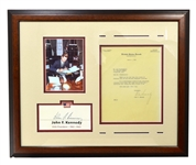 Very Rare Museum Piece Signed John F. Kennedy Letter  -PNR-