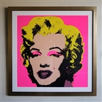 Andy Warhol (After) Museum Framed Marilyn Monroe Sunday B. Morning Lithograph