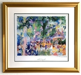*Tavern on the Green Litho - By Leroy Neiman Original Signature Extremely Rare 27 x 29 - Great Investment
