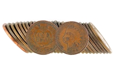 Rare (25) Indian Head Pennies - Great Investment -