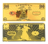 2020 1/10 Gram Aurum Liberty Excellent 24K Gold Note - Great Investment -