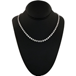 APP: 51k *Gorgeous 16.37ctw Diamond Platinum Tennis Necklace - Great Investment (Vault_R11 15005)