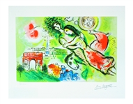 MARC CHAGALL Romeo and Juliet, XI of CCLXXV