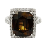 APP: 73.9k *10.75ct Alexandrite and 0.77ctw Diamond 18KT White Gold Ring (GIA CERTIFIED) (Vault_R14 7126)