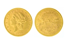 Rare 1878-S $10.00 U.S. Liberty Head Gold Coin - Great Investment -